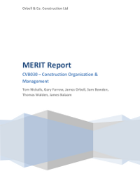 MERIT Report-Loughborough cover