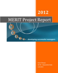 MERIT report-Penn State-cover